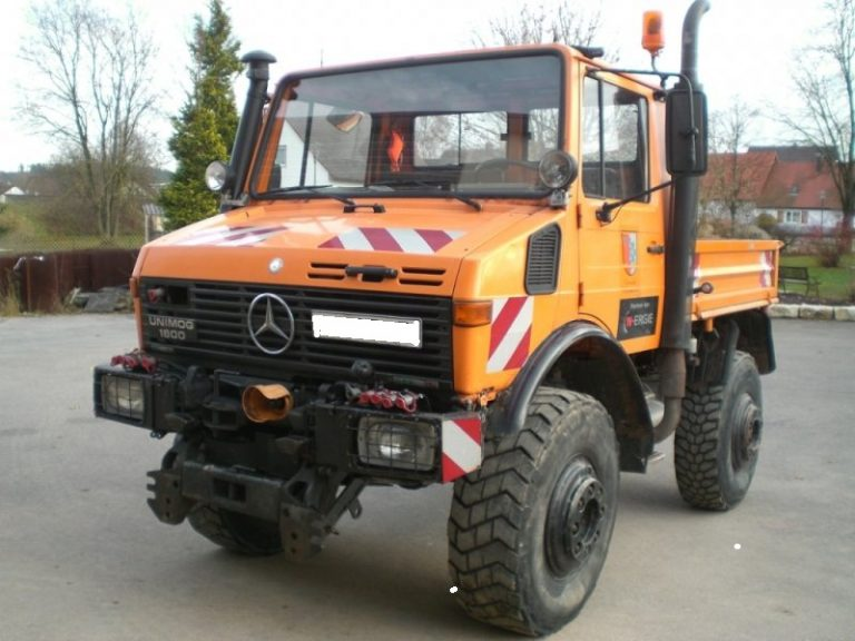 Mercedes-Benz Unimog (LWR) - LWR-Shop.de